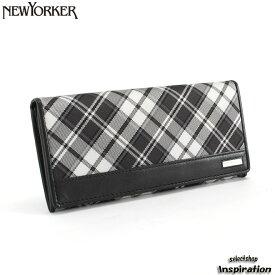 29d1edd31e81 クーポン配布中>ニューヨーカー NEWYORKER 財布 長財布 黒 nyk027-10 メンズ 紳士
