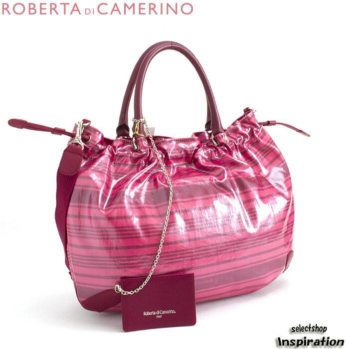 ロベルタ ディ カメリーノ バッグ ショルダーバッグ トートバッグ ピンク rbb092-24 レディース Roberta di Camerino