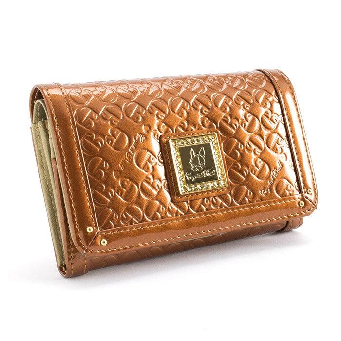 <クーポン配布中>クリスタルボール Crystal Ball 財布 二つ折り財布 オレンジ cbk162-42 レディース 婦人