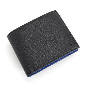 <クーポン配布中>展示品箱なし ランバンコレクション 財布 二つ折り財布 黒 jlmw0gs4-10 LANVIN collection メンズ 紳士