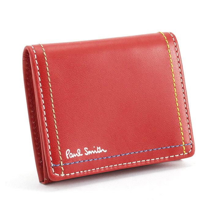 ポールスミス 財布 小銭入れ コインケース 赤 Paul Smith psk702-20 ブランド メンズ 紳士