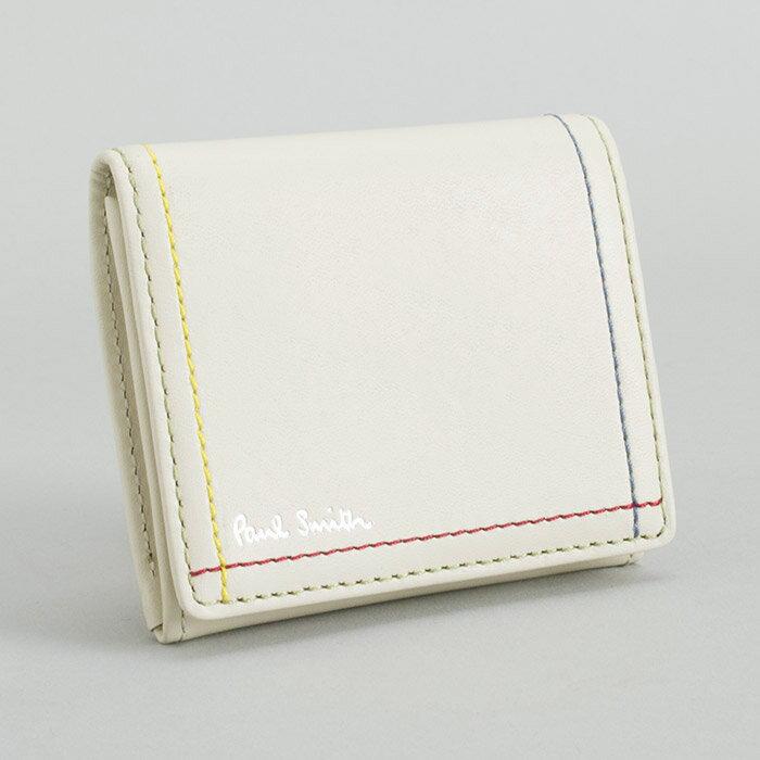 ポールスミス 財布 小銭入れ コインケース アイボリー Paul Smith psk702-63 ブランド メンズ 紳士