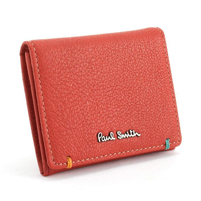 ポールスミス 財布 小銭入れ コインケース レッド Paul Smith psu750-20 ブランド メンズ 紳士