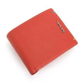 <クーポン配布中>ポールスミス Paul Smith 財布 二つ折り財布 レッド psu754-20 メンズ 紳士