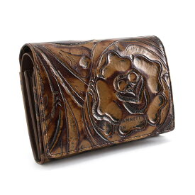 <クーポン配布中>キャサリンハムネット KATHARINE HAMNETT LONDON 財布 二つ折り財布 ブラウン khp212-70 レディース 婦人