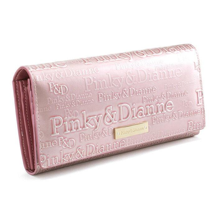 <クーポン配布中>展示品箱なし ピンキー&ダイアン 財布 長財布 ピンク Pinky&Dianne pdlw3rt2-48 レディース 婦人