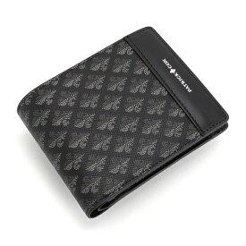 <クーポン配布中>展示品箱なし パトリックコックス 財布 二つ折り財布 ブラック PATRICK COX pxmw3ds2-10 メンズ 紳士