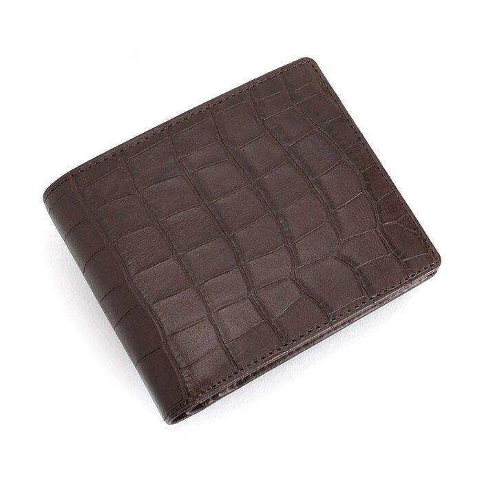 展示品箱なし セオリー 財布 二つ折り財布 チョコ theory thmw1bs2-20 メンズ 紳士