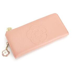 <クーポン配布中>クレイサス 財布 長財布 L字ファスナー ピンク CLATHAS 185431-33 レディース 婦人