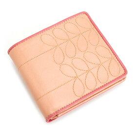 a0e0c01026c1 クーポン配布中>展示品箱なし オーラカイリー 財布 二つ折り財布 オレンジ