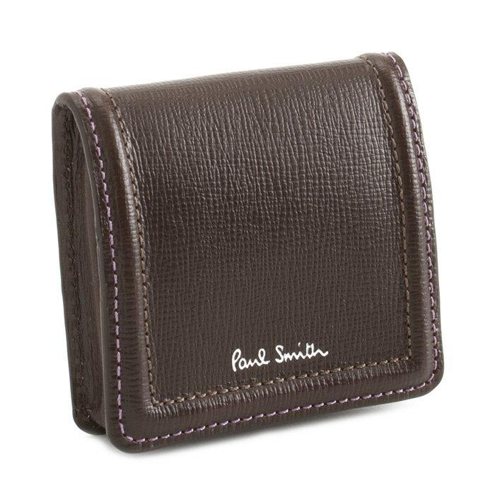 ポールスミス 財布 小銭入れ コインケース チョコ Paul Smith psc020-71 メンズ 紳士