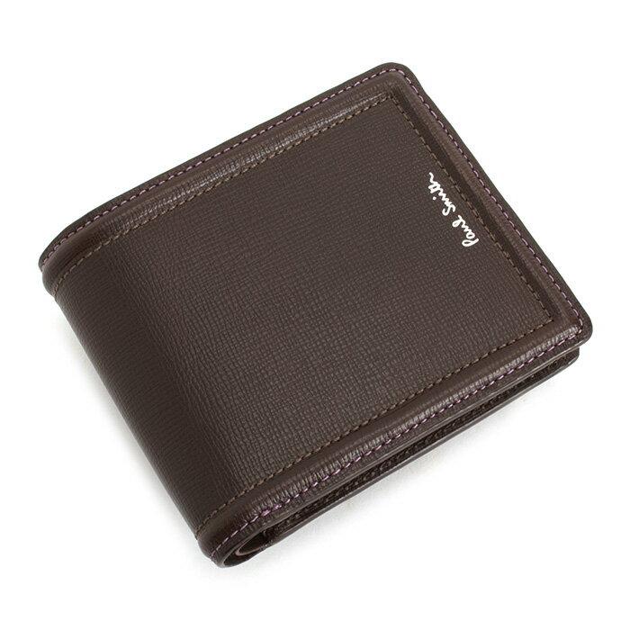 ポールスミス 財布 二つ折り財布 チョコ Paul Smith psc024-71 メンズ 紳士