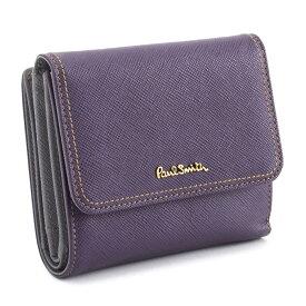 <クーポン配布中>ポールスミス 財布 二つ折り財布 パープル Paul Smith pww803-34 レディース 婦人