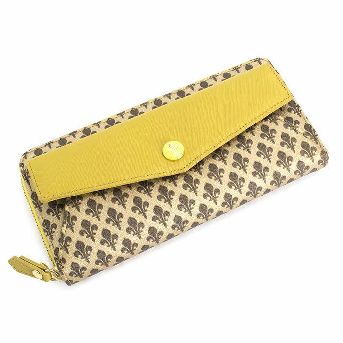 <クーポン配布中>訳あり展示品箱なし パトリックコックス 財布 長財布 ラウンドファスナー 黄色系(マスタードっぽい黄色です。) PATRICK COX pxlw4lt3 b レディース 婦人