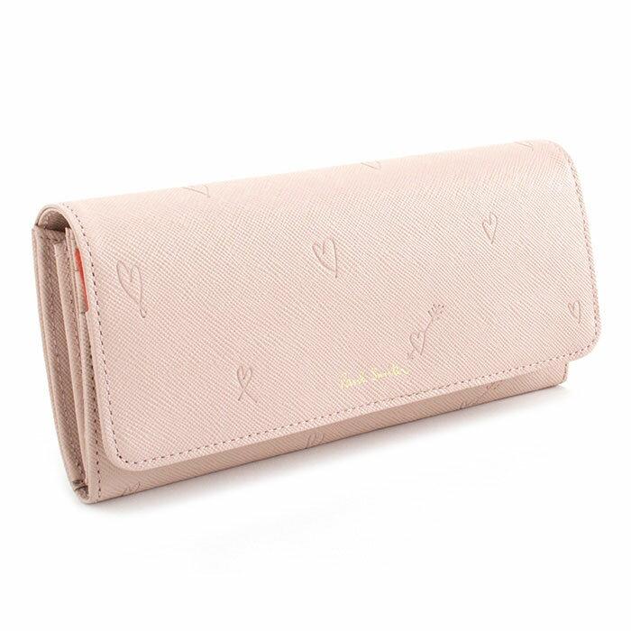 ポールスミス 財布 長財布 ピンク(薄めのピンクです。) Paul Smith pwu805-24 レディース 婦人