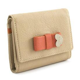 <クーポン配布中>ポールスミス 財布 三つ折り財布 ベージュ Paul Smith pwu902-90 レディース 婦人