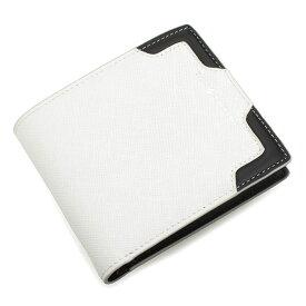 <クーポン配布中>パトリックコックス 財布 二つ折り財布 ホワイト PATRICK COX pxmw5ss3-00 メンズ 紳士