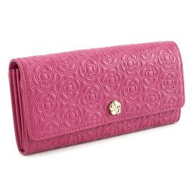 <クーポン配布中>展示品箱なし クレイサス 財布 長財布 ローズピンク系 CLATHAS 186660-32 レディース 婦人