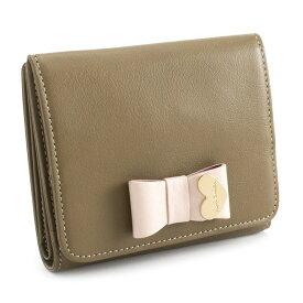 <クーポン配布中>ポールスミス 財布 二つ折り財布(BOX型) ブラウン Paul Smith pww781-70 レディース 婦人