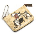 マンハッタナーズ 財布 小銭入れ コインケース ミニ財布 ブロンズ系 Manhattaner's 0758157-0040-5 レディース 婦人