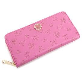 <クーポン配布中>クレイサス 財布 長財布 ラウンドファスナー ピンク CLATHAS 186880-32 レディース 婦人