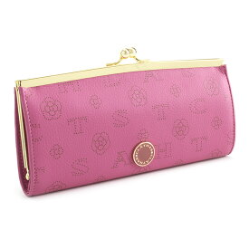 <クーポン配布中>展示品箱なし クレイサス 財布 長財布 がま口長財布 ピンク CLATHAS 186881-32 レディース 婦人
