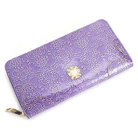 18807620277f クーポン配布中>アナスイ 財布 長財布 ラウンドファスナー 紫(パープル) ANNA