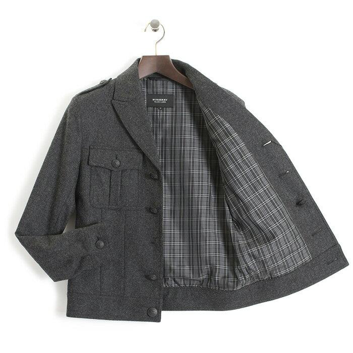 訳あり バーバリーブラックレーベル ジャケット BURBERRY black label 灰(グレー) bmp11351-06 b メンズ 紳士