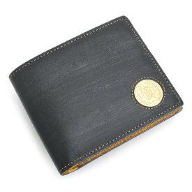 <クーポン配布中>展示品箱なし ニューヨーカー 財布 二つ折り財布 紺(ネイビー) NEWYORKER nyk353-30 メンズ 紳士