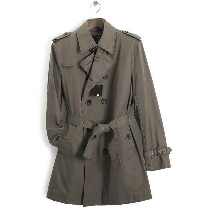 バーバリーブラックレーベル コート ライナー付コート トレンチコート BURBERRY BLACK LABEL カーキ bma44312-72 メンズ 紳士