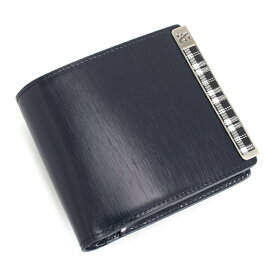 <クーポン配布中>訳あり ニューヨーカー 財布 二つ折り財布 紺(ネイビー) NEWYORKER ACCESSTORY nyk372-30 b メンズ 紳士