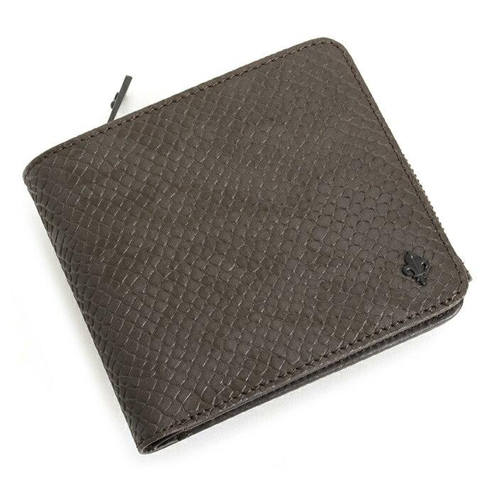 <クーポン配布中>展示品箱なし パトリックコックス 財布 二つ折り財布 茶(ブラウン) PATRICK COX pxmw5vs2-21 メンズ 紳士