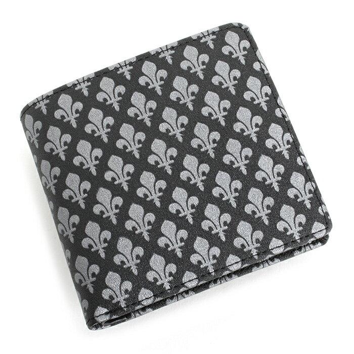 展示品箱なし パトリックコックス 財布 二つ折り財布 シルバー PATRICK COX pxmw9es2-82 メンズ 紳士