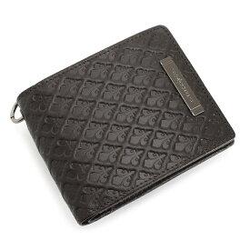 <クーポン配布中>展示品箱なし パトリックコックス 財布 二つ折り財布 リング付き 茶(ブラウン) PATRICK COX pxmw9is3-20 メンズ 紳士