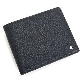 <クーポン配布中>ランバンコレクション 財布 二つ折り財布 カード&札 紺(ネイビー) LANVIN collection jlmw5hs1-30 メンズ 紳士