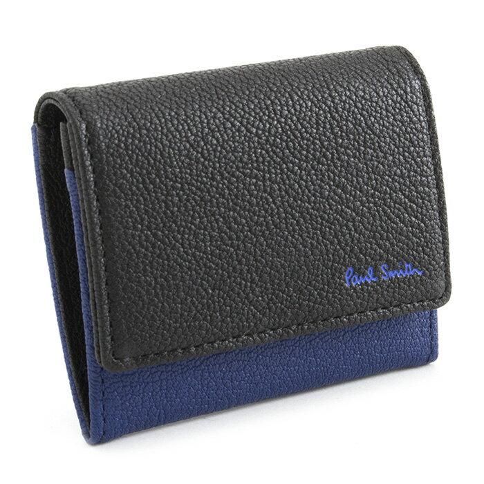ポールスミス 財布 小銭入れ コインケース 黒(ブラック) Paul Smith psc130-10 メンズ 紳士