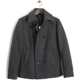 <クーポン配布中>ニコル コート Pコート NICOLE selection 灰(グレー) 35663702-39 メンズ 紳士