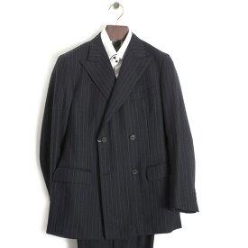 アクアスキュータム スーツ ストライプスーツ Aquascutum 紺(ネイビー) a9212914-39 メンズ 紳士 ギフト 定番 彼氏 彼女 プレゼント