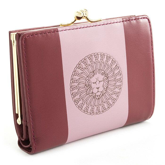 <クーポン配布中>ロベルタディカメリーノ 財布 二つ折り財布 がま口財布 ボルドー Roberta di Camerino rbi720-80 レディース 婦人