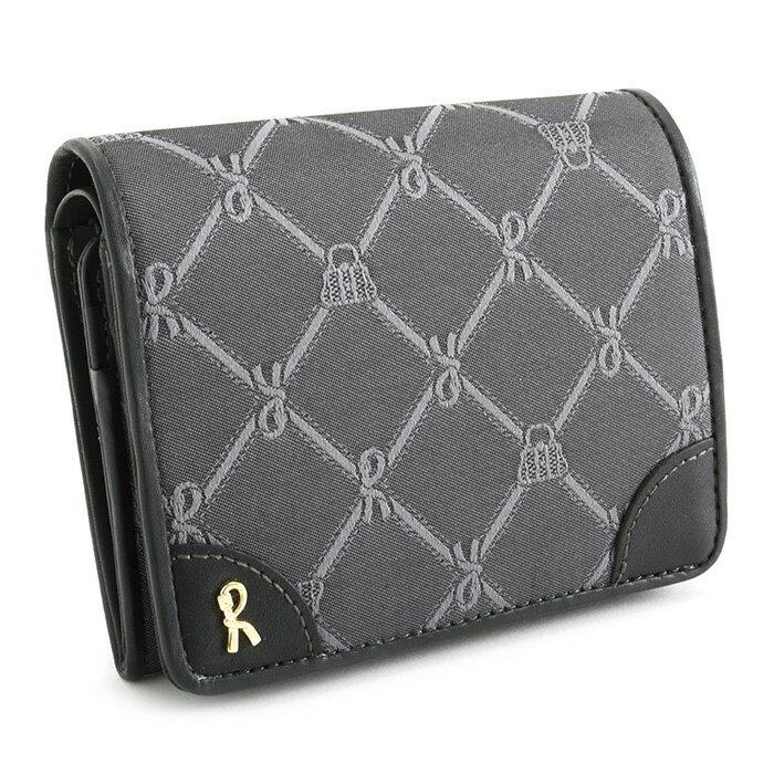 <クーポン配布中>展示品箱なし ロベルタディカメリーノ 財布 二つ折り財布 灰(グレー) Roberta di Camerino rbi741-13 レディース 婦人