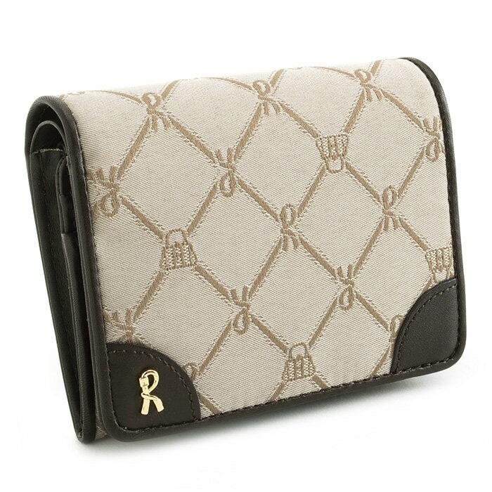 <クーポン配布中>ロベルタディカメリーノ 財布 二つ折り財布 ベージュ Roberta di Camerino rbi741-90 レディース 婦人