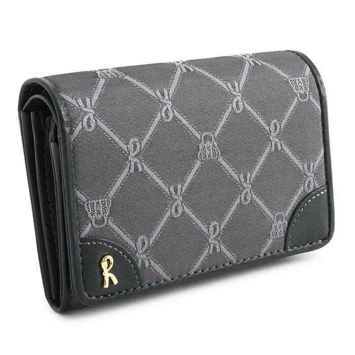 <クーポン配布中>展示品箱なし ロベルタディカメリーノ 財布 二つ折り財布 灰(グレー) Roberta di Camerino rbi742-13 レディース 婦人