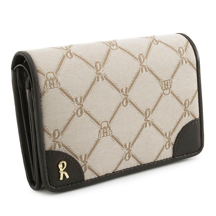 <クーポン配布中>ロベルタディカメリーノ 財布 二つ折り財布 ベージュ Roberta di Camerino rbi742-90 レディース 婦人