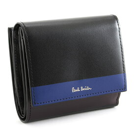 <クーポン配布中>展示品箱なし ポールスミス 財布 二つ折り財布 黒(ブラック) Paul Smith pwd254-10 レディース 婦人
