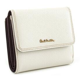 <クーポン配布中>ポールスミス 財布 二つ折り財布 白(ホワイト) Paul Smith pww803-60 レディース 婦人