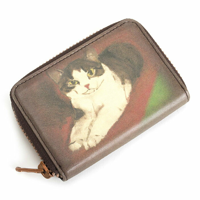 展示品箱なし マンハッタナーズ 財布 小銭入れ コインケース ラウンドファスナー 濃茶(ブラウン) Manhattaner's 075170010-30 b レディース 婦人