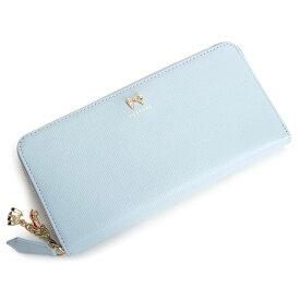 <クーポン配布中>クレイサス 財布 長財布 ラウンドファスナー ライトブルー CLATHAS 187250-82 レディース 婦人