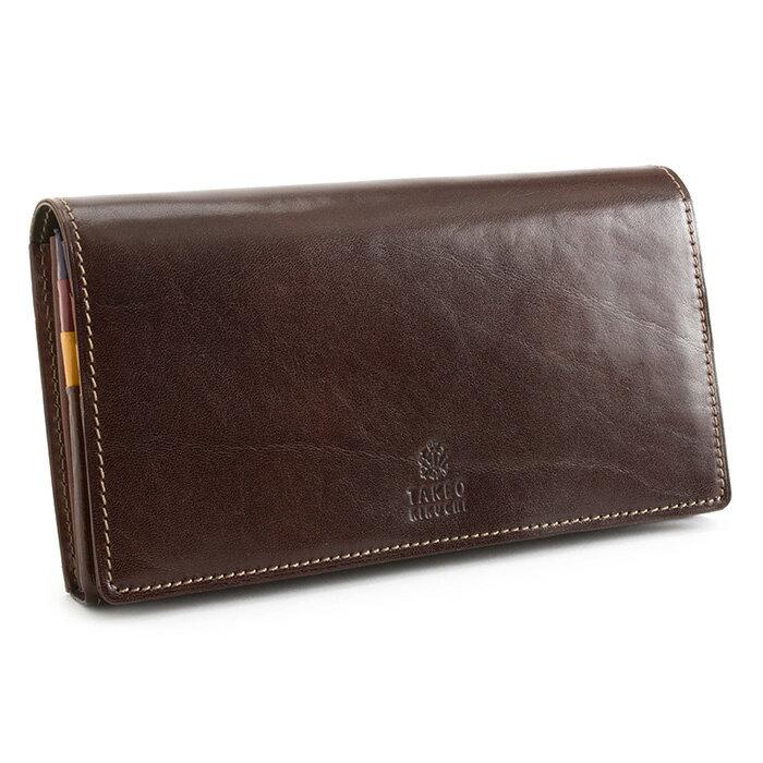 <クーポン配布中>タケオキクチ 財布 長財布 チョコ TAKEO KIKUCHI 266623 メンズ 紳士