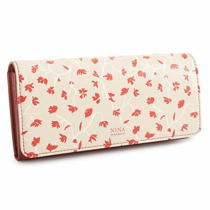 展示品箱なし ニナリッチ 財布 長財布 赤(レッド) NINA RICCI 035370510-30 レディース 婦人