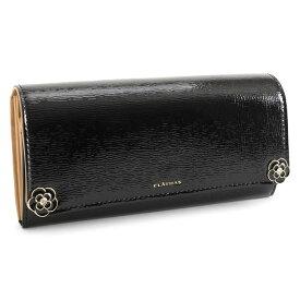 <クーポン配布中>クレイサス 財布 長財布 黒(ブラック) CLATHAS 187410-10 レディース 婦人